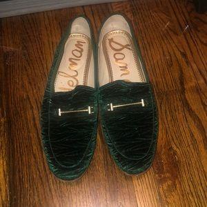 Sam Edelman green flat shoe 9